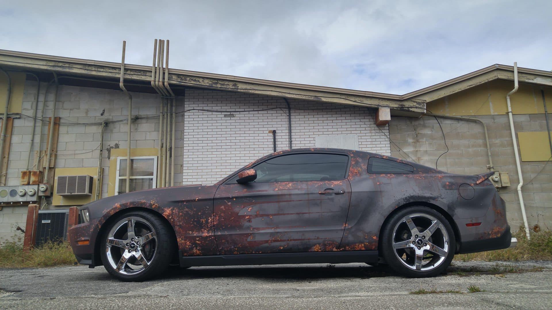 Rust Wrap Ford Mustang Quot Rustang 2 Quot Skepple Inc