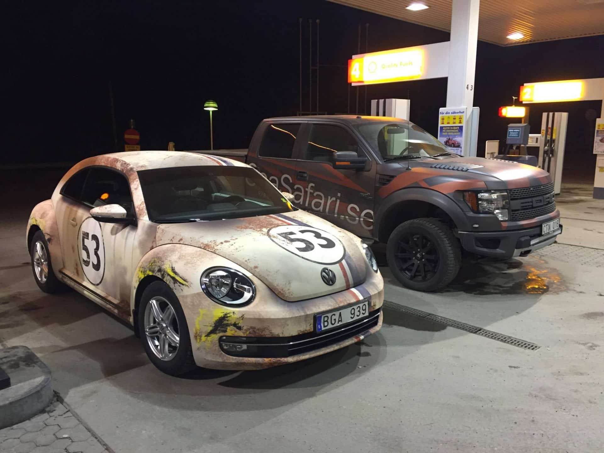 A Beetle Car Apocalyptic Herbie Bee...