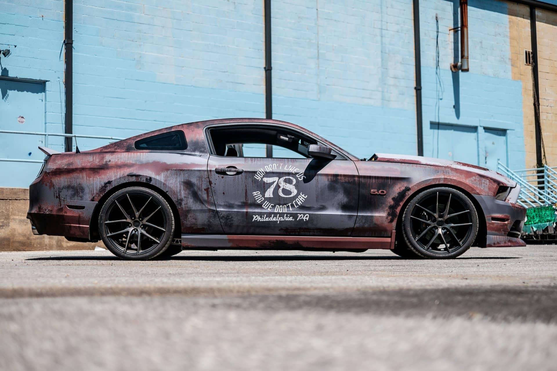 Mustang Cobra 2018 >> Rust Wrap Design Ford Mustang | Skepple Inc