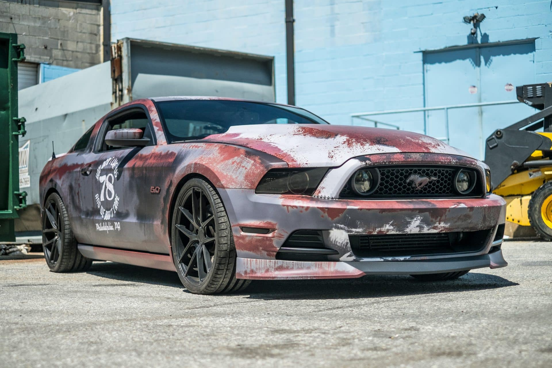 2019 Ford Mustang >> Rust Wrap Design Ford Mustang   Skepple Inc