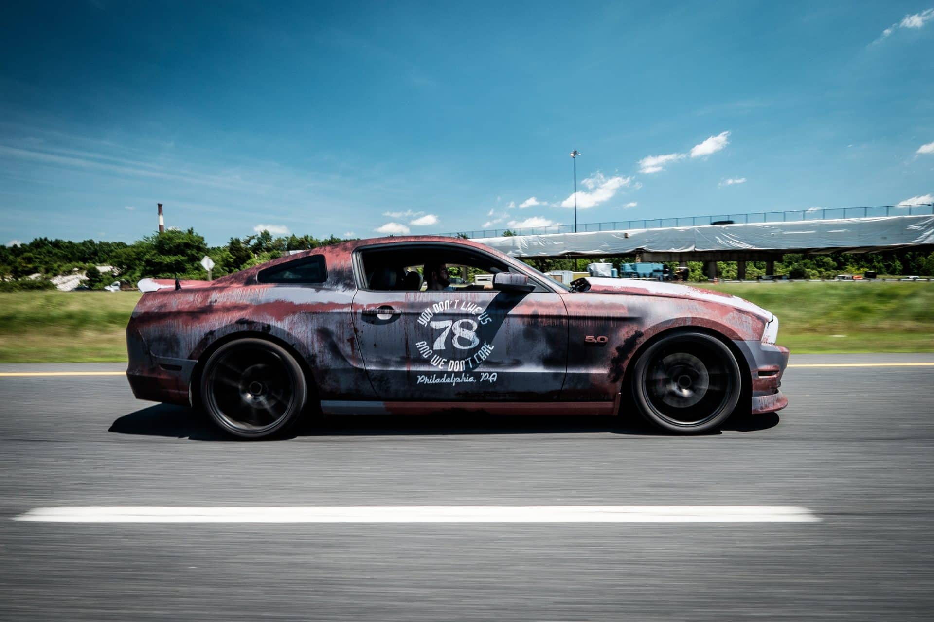 Ford Mustang 2016 >> Rust Wrap Design Ford Mustang | Skepple Inc
