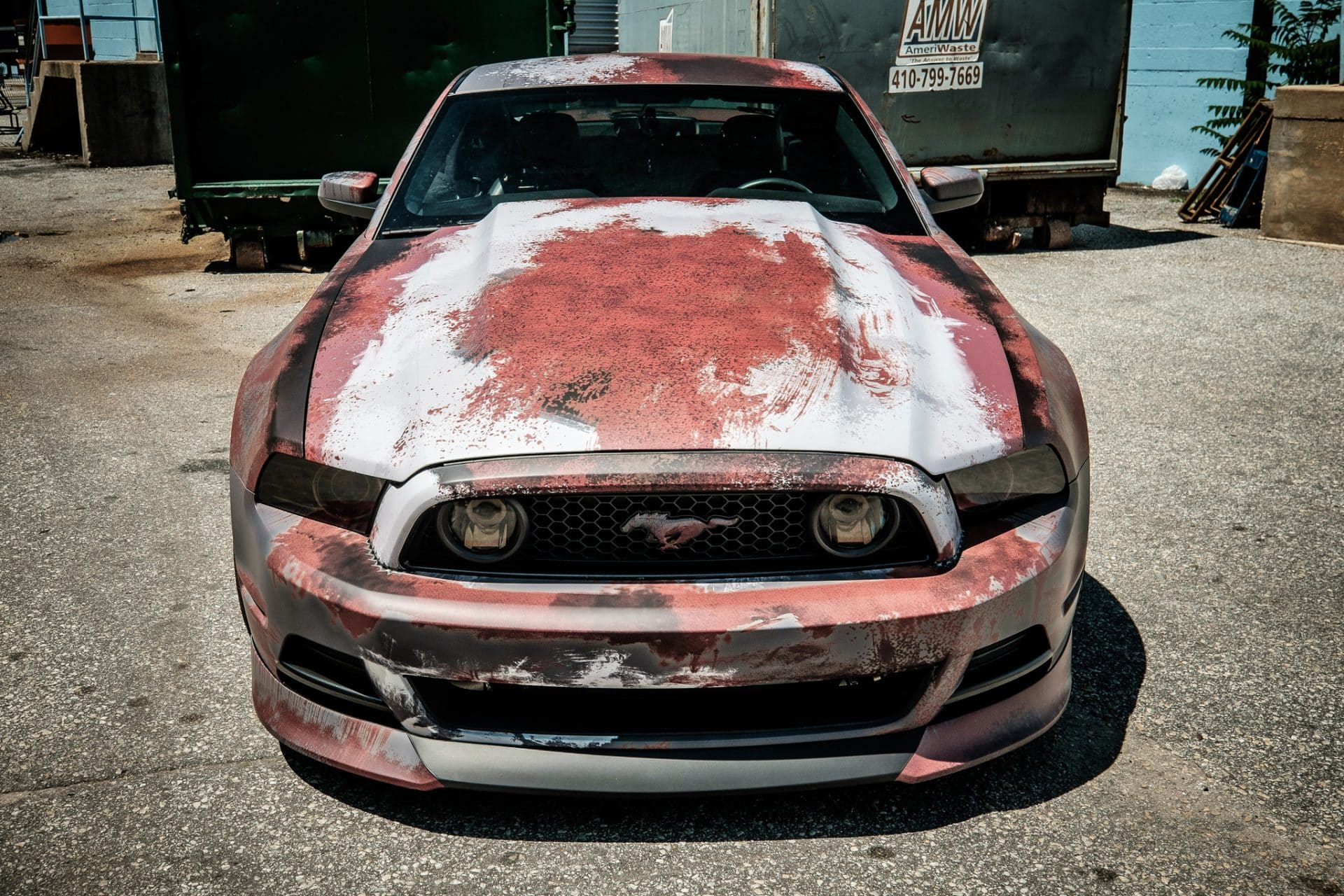 Rust Wrap Design Ford Mustang Skepple Inc