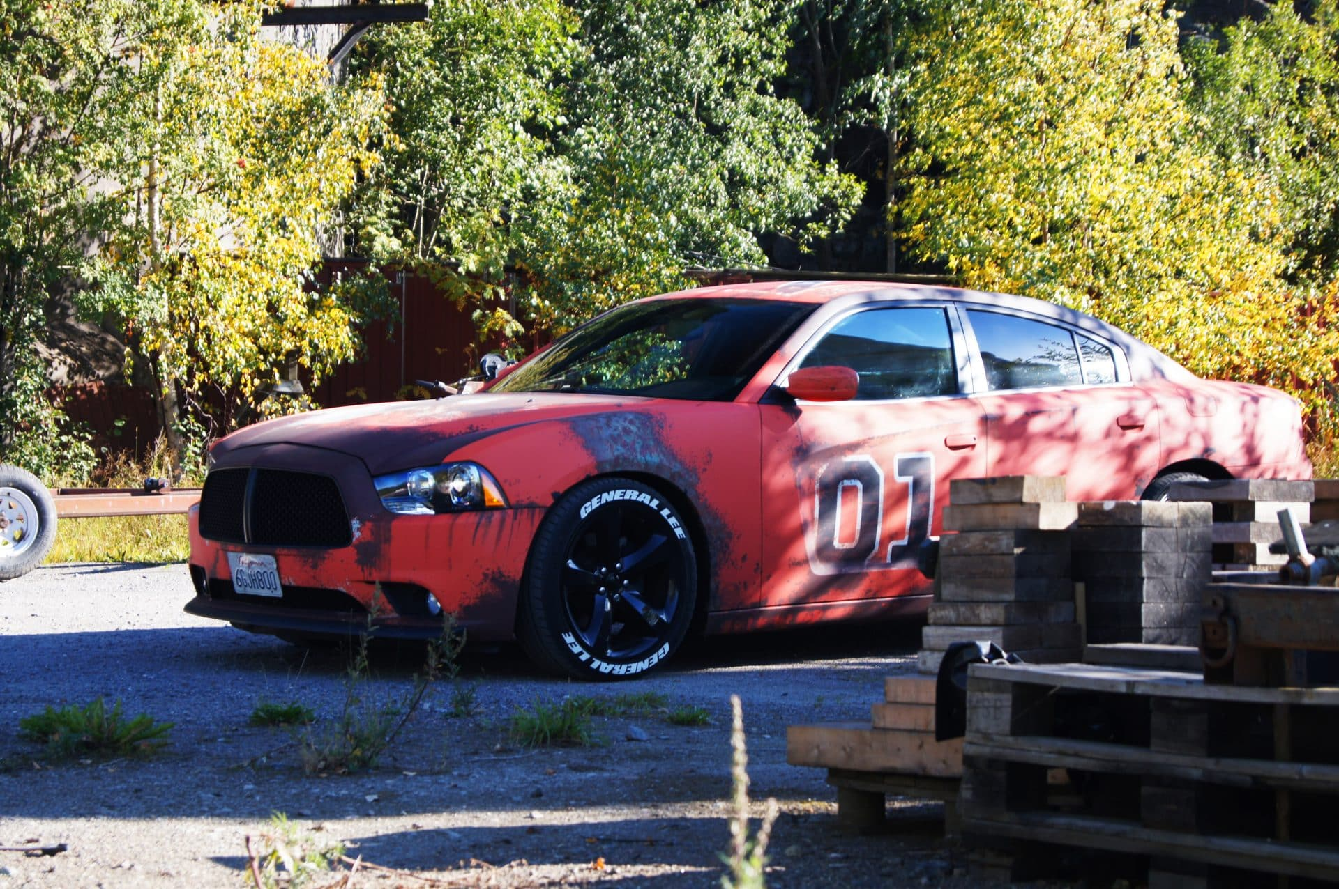 General Lee Dodge Charger Rust Wrap | Skepple Inc