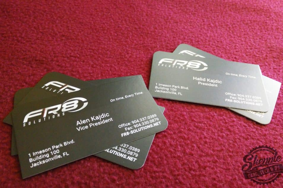 Fr8 solutions business cards skepple inc fr8 solutions business cards reheart Choice Image