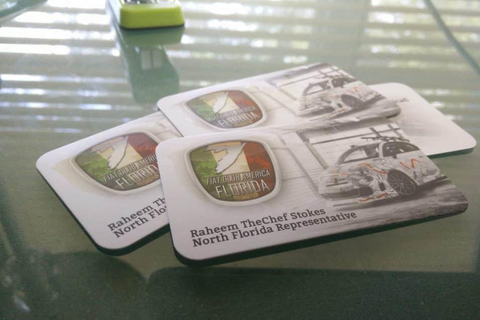 Florida Fiat Club Business Cards   Skepple Inc