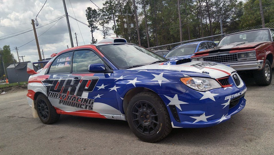 Dirty Racing Parts Sti Rally Car Livery Skepple Inc