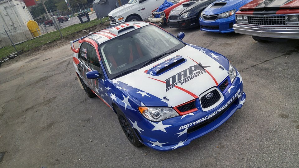 Drp Dirty Racing Products Wrx Sti Rally Car Livery By Skepple Inc