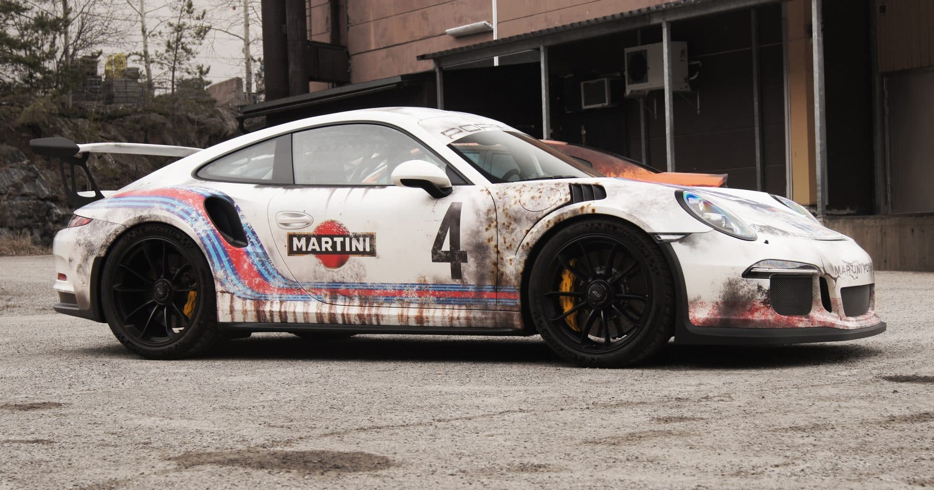 Used And Abused Martini Livery Porsche Gt3rs Skepple Inc