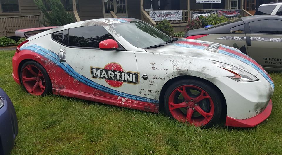 Abused & Weathered Martini Nissan 370Z | Skepple Inc