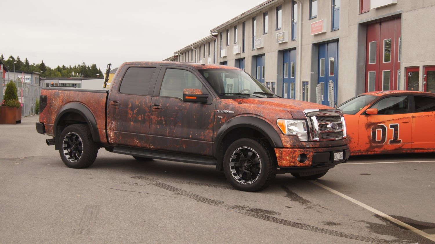 Custom 2018 F 150 >> Ford F-150 Rusty Vinyl Wrap Design | Skepple Inc