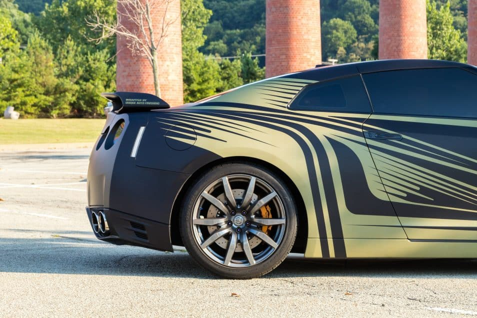 Custom Nissan Gtr Livery Wrap Design Skepple Inc
