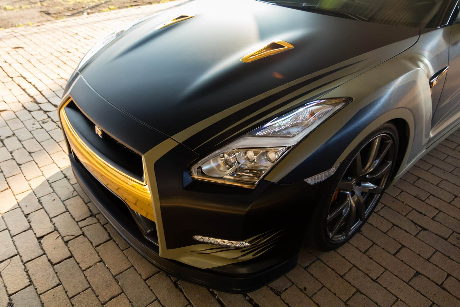 Custom Nissan Gtr Livery Wrap Design Skepple Inc