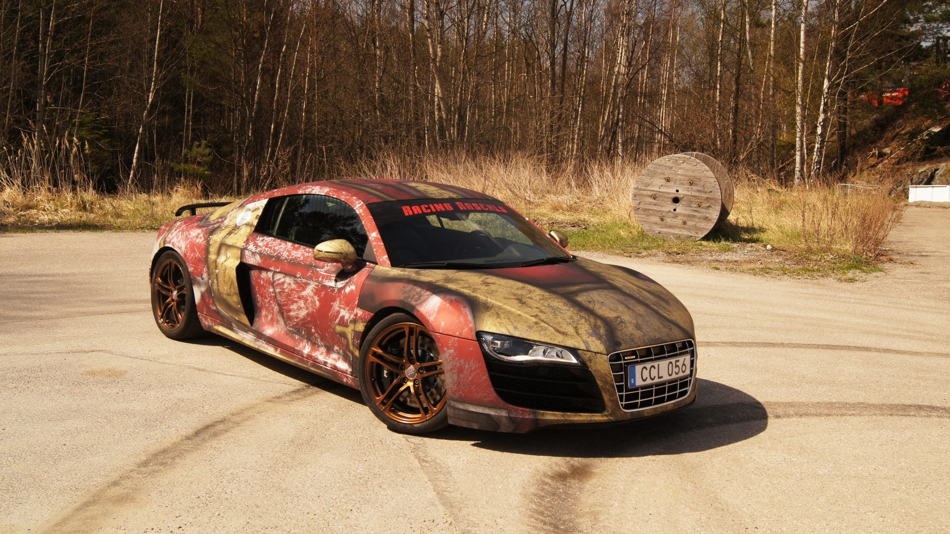 Iron Man Audi R8 Wrap Design By Skepple Inc Wrapzone Skepple Inc