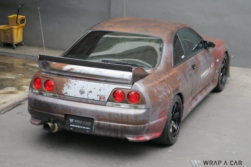 Resident Evil Nissan R33 Gtr Skepple Inc