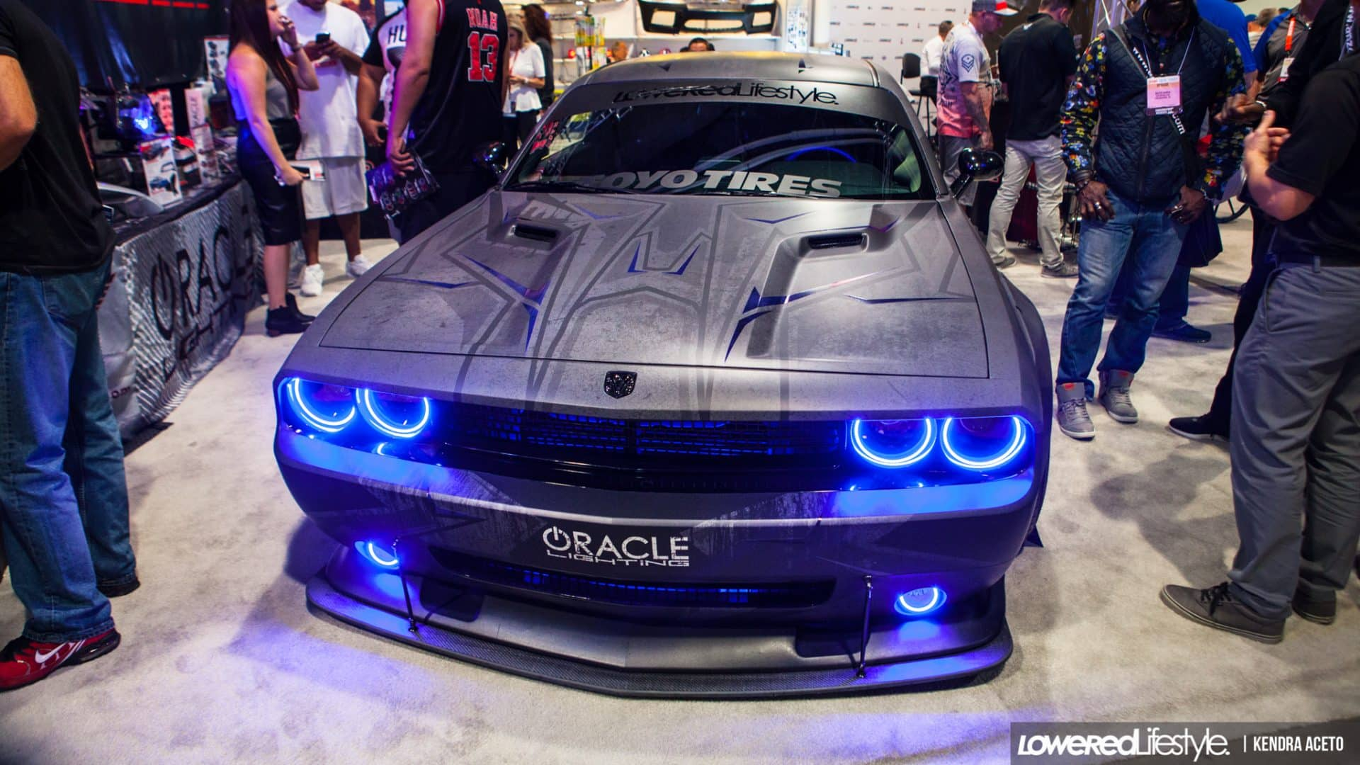 Liberty Walk Dodge Challenger Wrap Design Skepple Inc