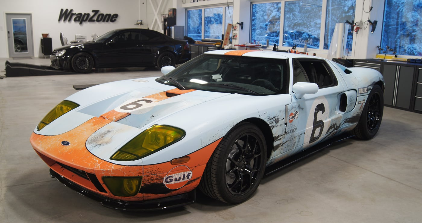 Lemans Gt40 Gulf Tribute Ford Gt Skepple Inc
