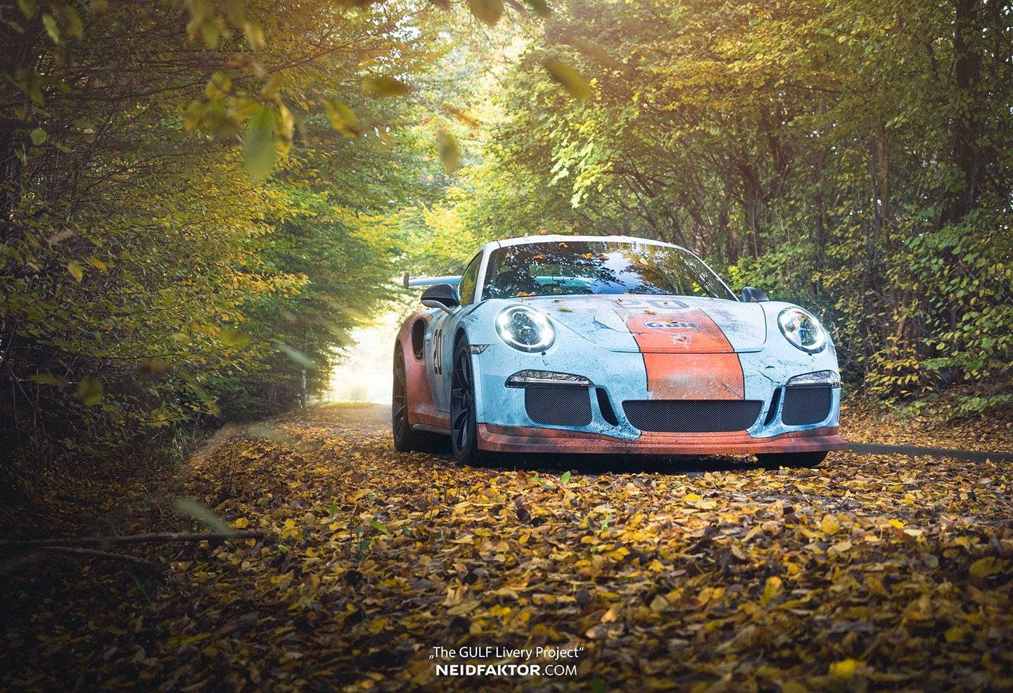 Cayman Gt4 Rs >> Weathered Gulf Livery Porsche GT3RS | Skepple Inc