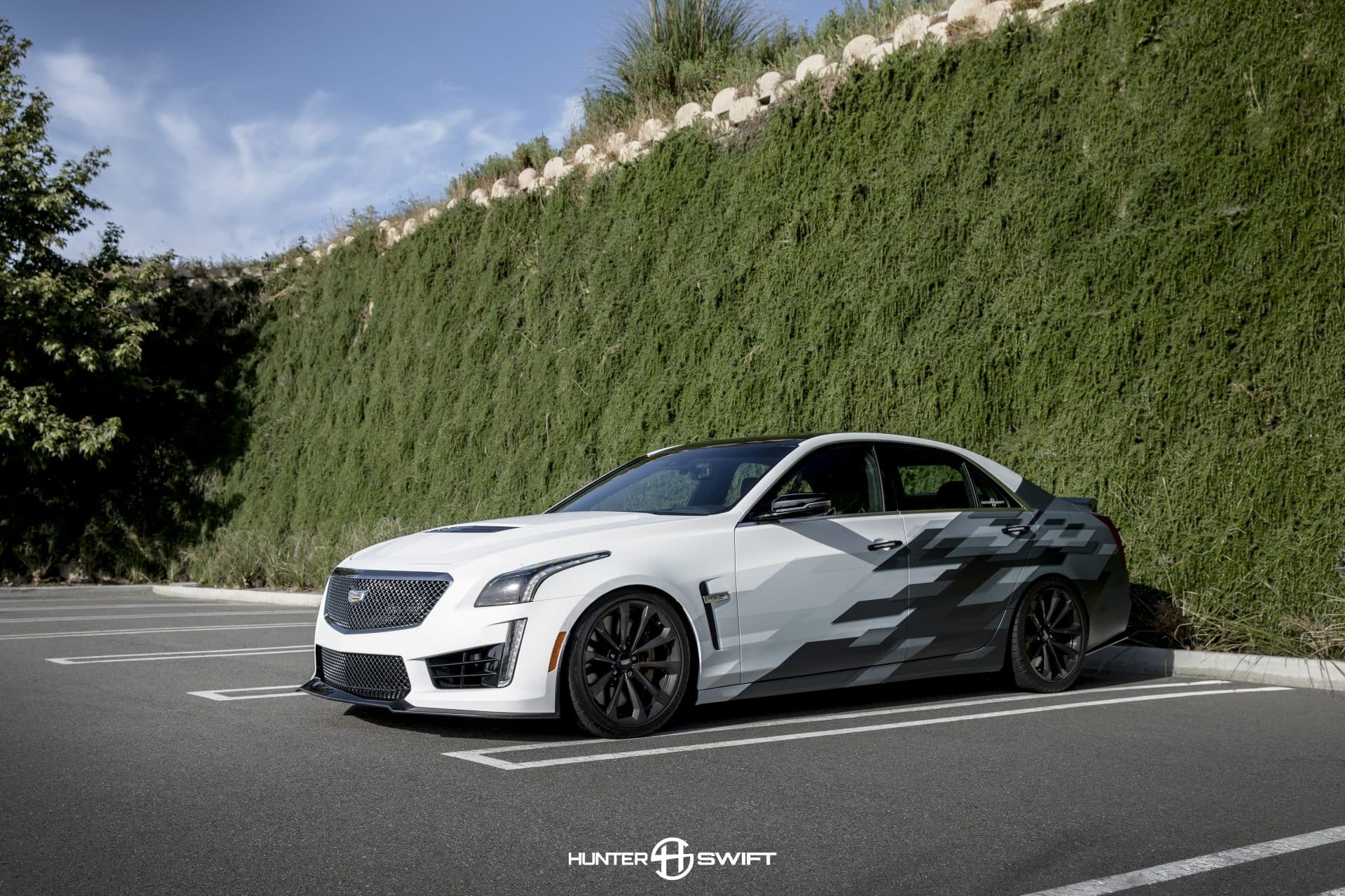 Cadillac CTSV Custom Livery Design | Skepple Inc