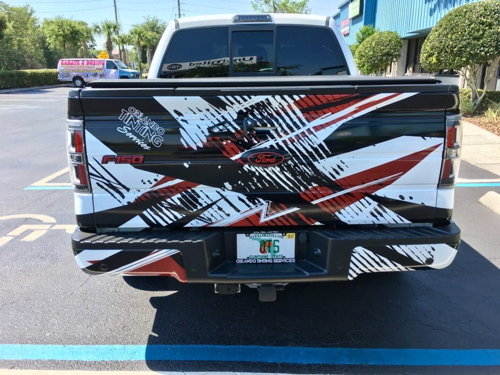 Custom F 150 >> Abstract Ford F150 Partial Wrap | Skepple Inc