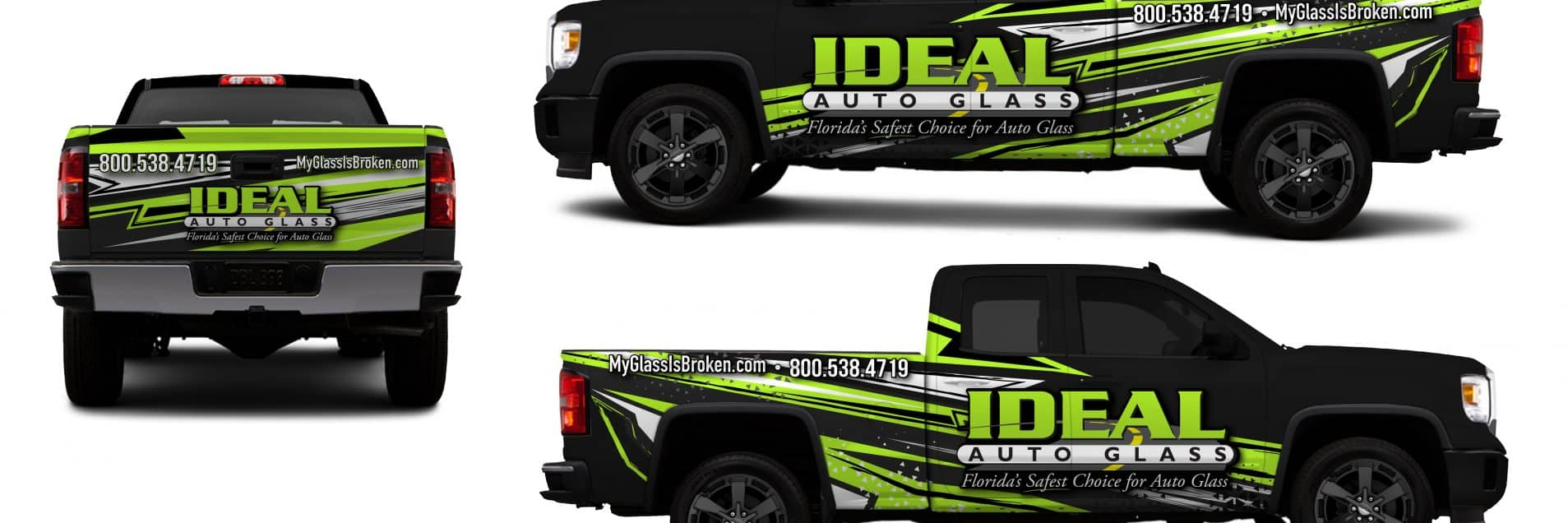 2018 Honda Element >> Idea Auto Glass Silverado Partial Wrap | Skepple Inc