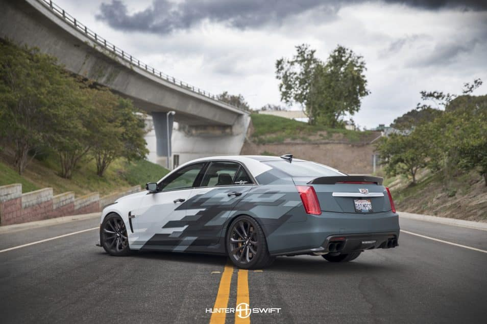 Cadillac CTSV Custom Livery Design | Skepple Inc