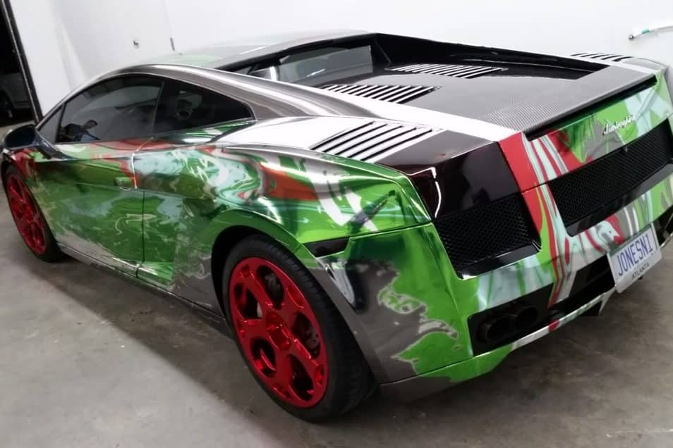 Check Out This Lamborghini Gallardo Wrap Skepple Inc