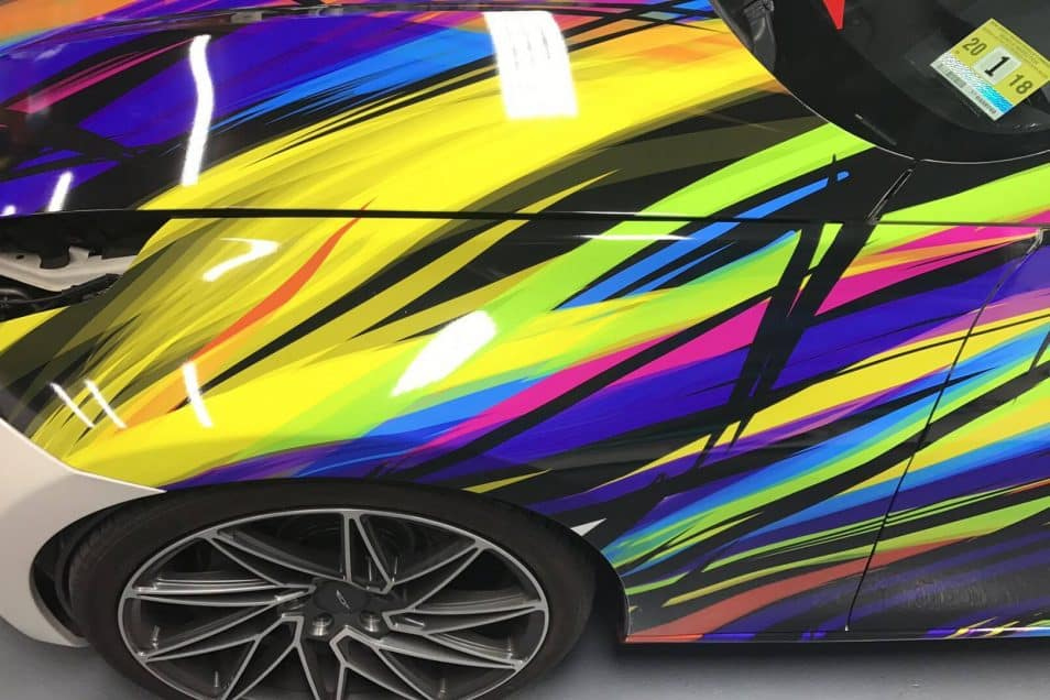 Nissan 370z Art Car Wrap Design Skepple Inc